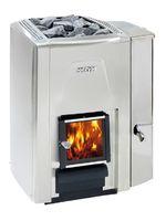 Дровяная печь HARVIA 20 SS Premium VS с баком для воды