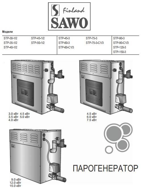 парогенераторы от SAWO