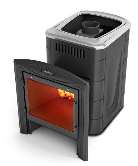 Печь банная Термофор Компакт 2013 Inox Витра (С содержанием хрома 13%)