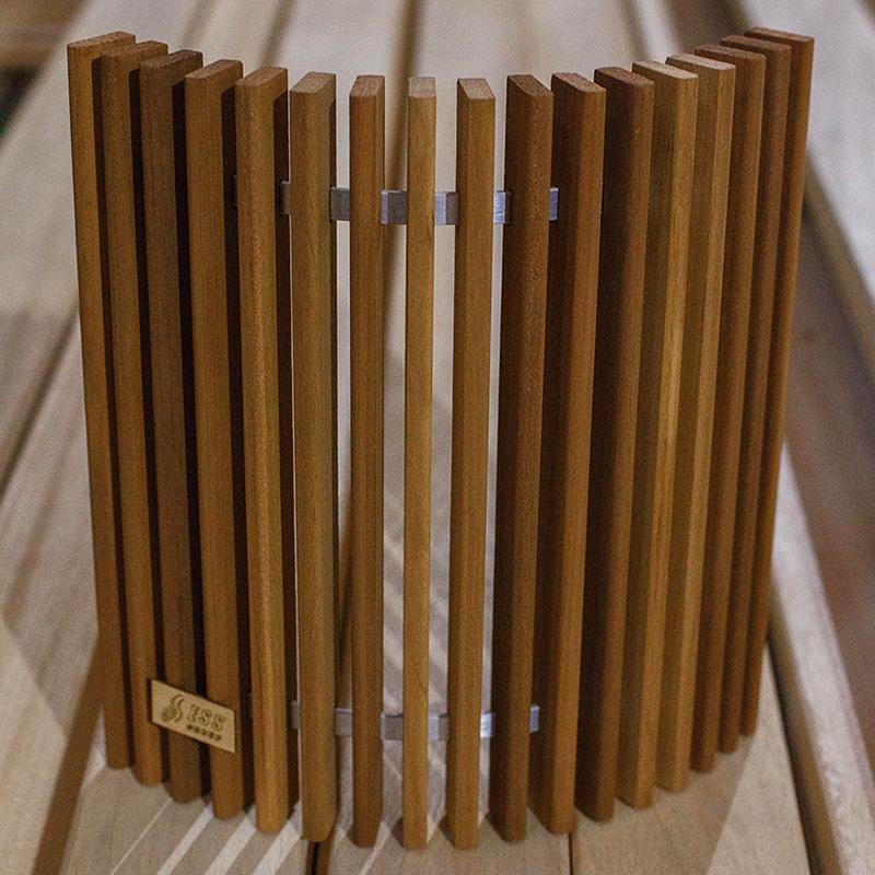 ESS Ограждение светильника для сауны 30 см термоабаш