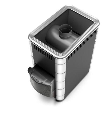 Печь для бани Термофор Ангара Inox КТК (С хромом 13% и коротким каналом)