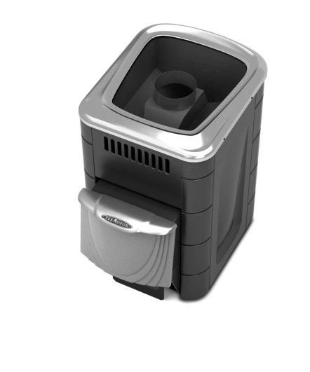 Печь банная Термофор Компакт 2013 Carbon ДН (С коротким топливным каналом)