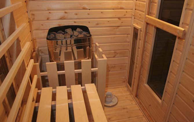 Готовая баня в квартире