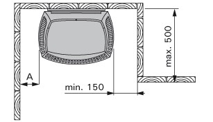 Схема установки HARVIA Sound M45 Platinum