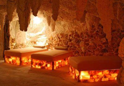 Строительство солевой бани