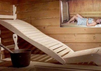 Лежаки для саун